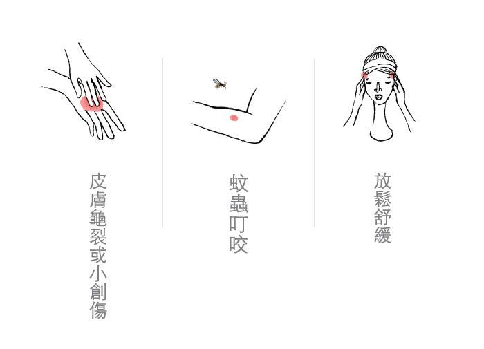 璞草園-舒活修護精油膏(10ml X 3盒)產品資訊