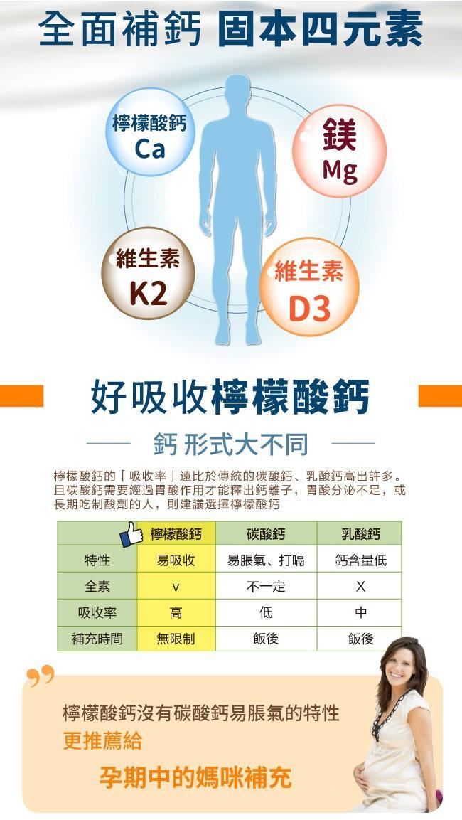 愛維他-檸檬酸鈣鎂D3固本加強錠(120錠)