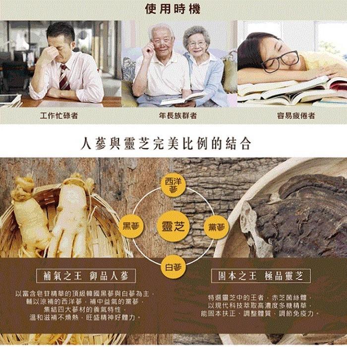 李時珍-靈芝御品人蔘精華飲( 8入)禮盒產品資訊