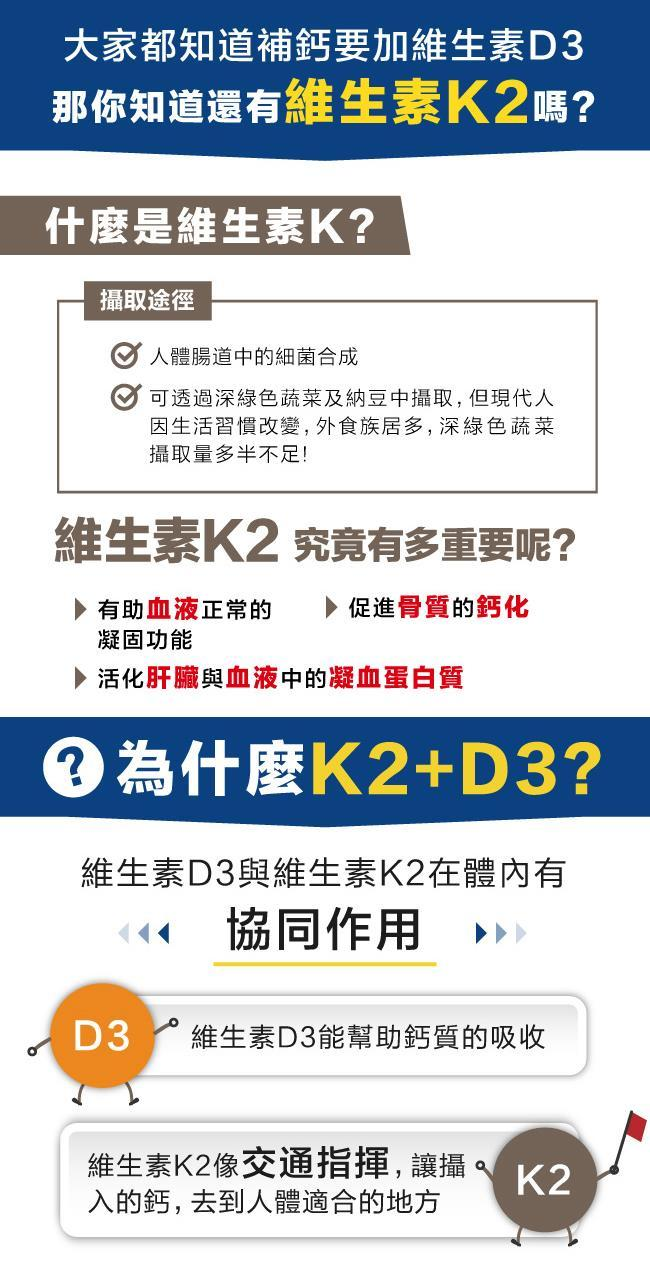 e10908012B愛維他維生素K2+D3素食膠囊