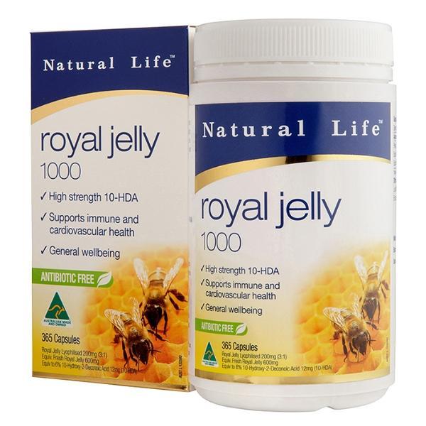 Natural Life-澳洲頂級蜂王漿軟膠囊(365粒)