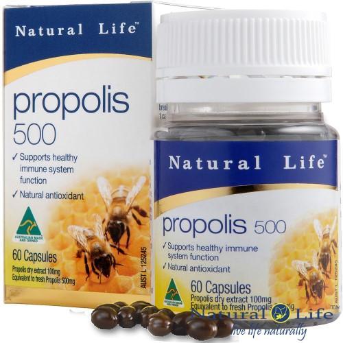Natural Life-澳洲蜂膠膠囊(60粒)