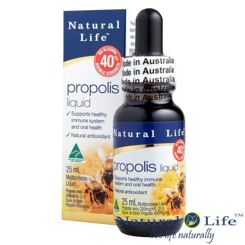 Natural Life-澳洲蜂膠液40%(不含酒精)25毫升