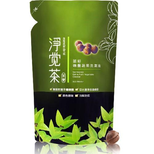 茶寶-淨覺茶茶籽蔬果碗盤洗潔液補充包(700ml)
