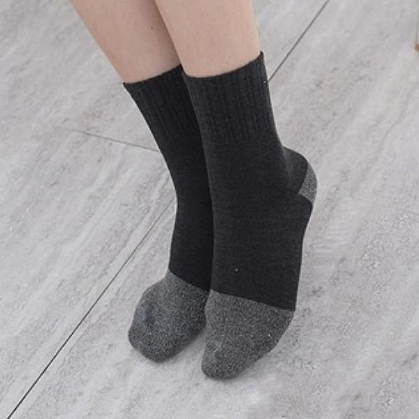 Uni-TOP 銀炭竹奈納炭1/2休閒襪