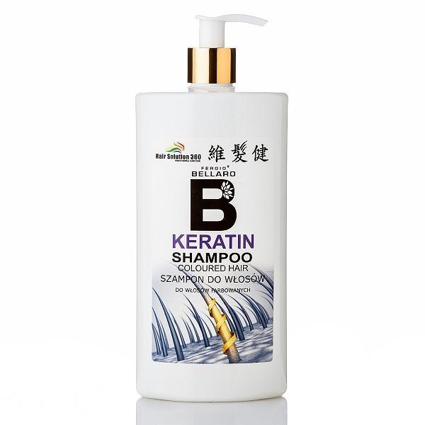 維髮健-BELLARO髮質調理洗髮精(角蛋白配方)500ml