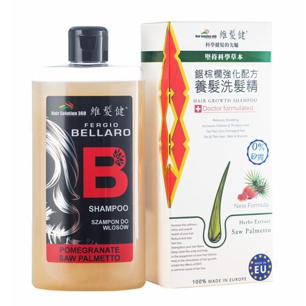 維髮健-高植萃鋸棕櫚強化配方養髮洗髮精300ml