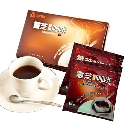 三才靈芝-靈芝健康咖啡(5包)