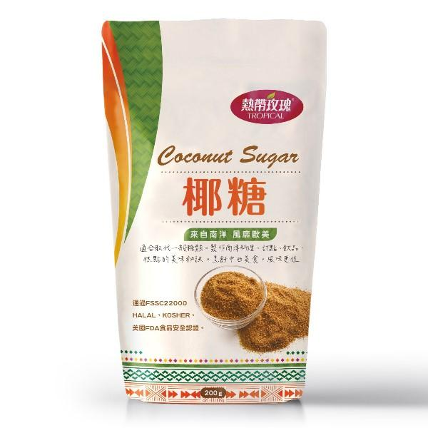 熱帶玫瑰-純椰糖(200g)