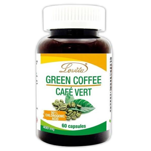 Lovita愛維他-高單位綠咖啡400mg素食膠囊食品(60粒-60天份)