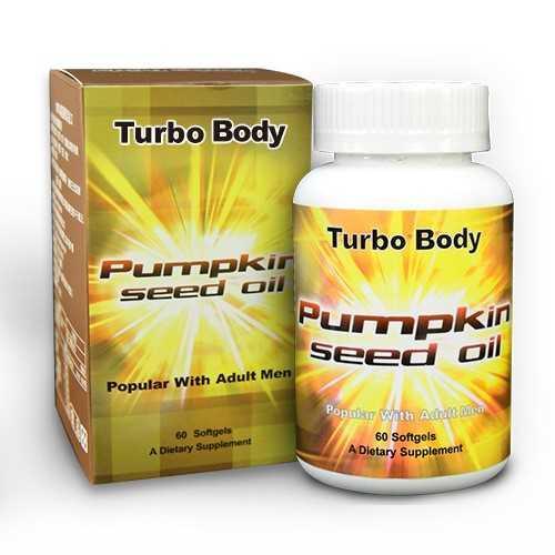 Turbo Body-南瓜籽油(60粒)