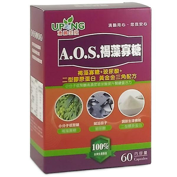 湧鵬生技-AOS褐藻寡糖(60粒)