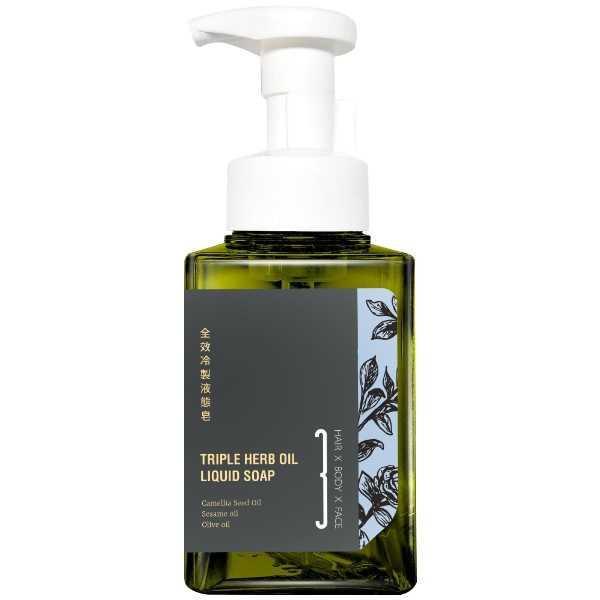 艸研所-三合一冷製液態皂(400ml)(洗髮、洗臉、沐浴適用)