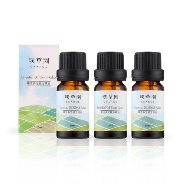 璞草園-樂活多元複方精油(10ml X 3瓶)