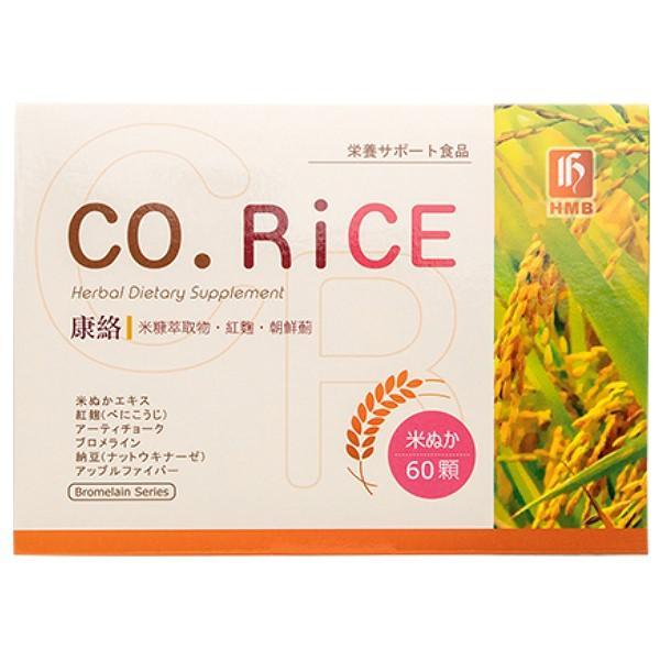 弘茂生技-康絡米糠原素複方 Co.Rice(60粒)