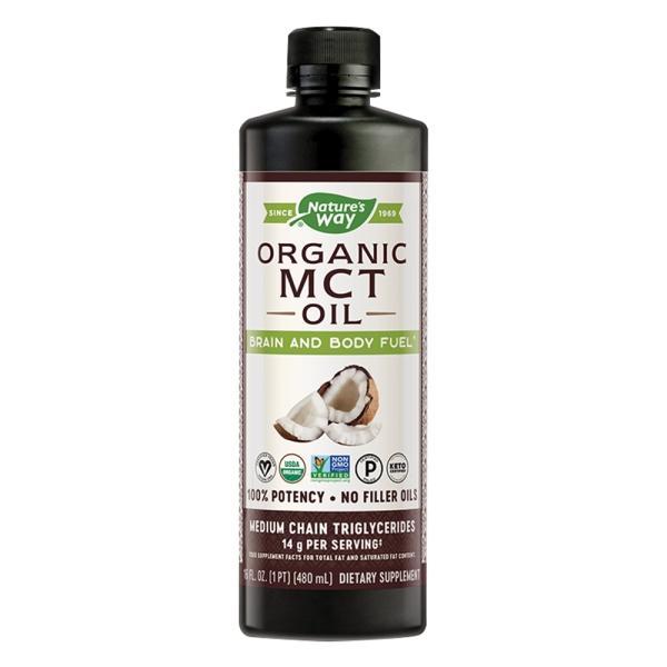 Nature's Way然萃維 中鏈三酸甘油酯MCT Oil(椰子油來源)(480ml)