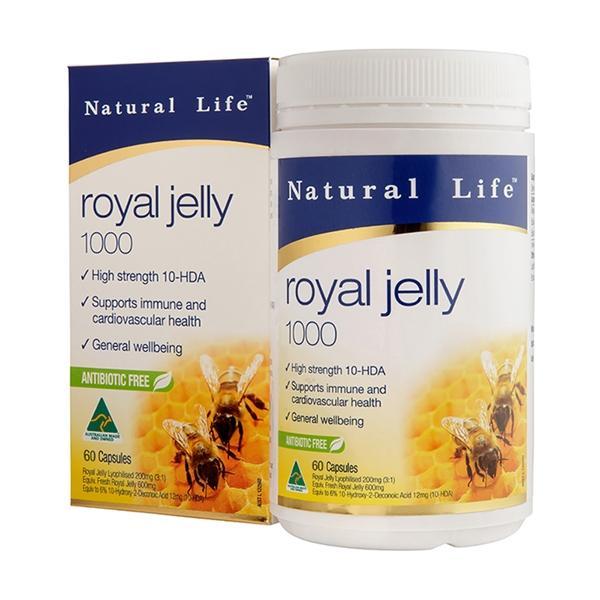 Natural Life-澳洲頂級蜂王漿軟膠囊(60粒)