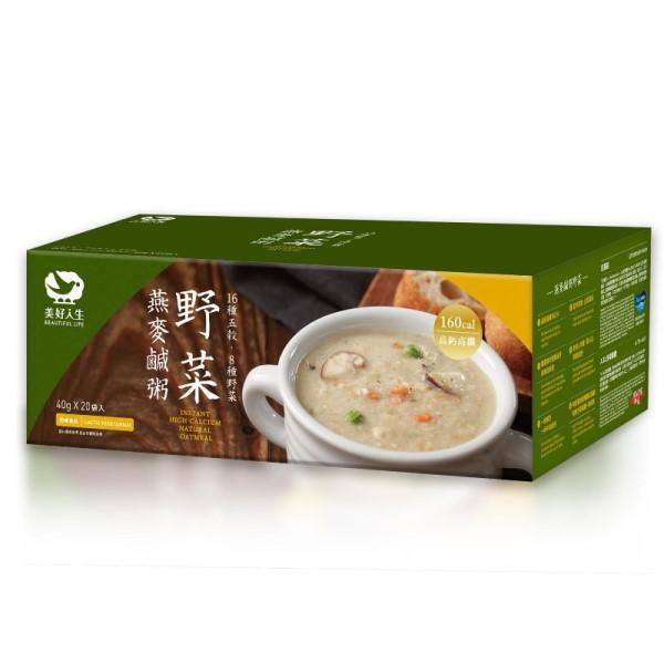 海力捷-野菜燕麥鹹粥(20包)