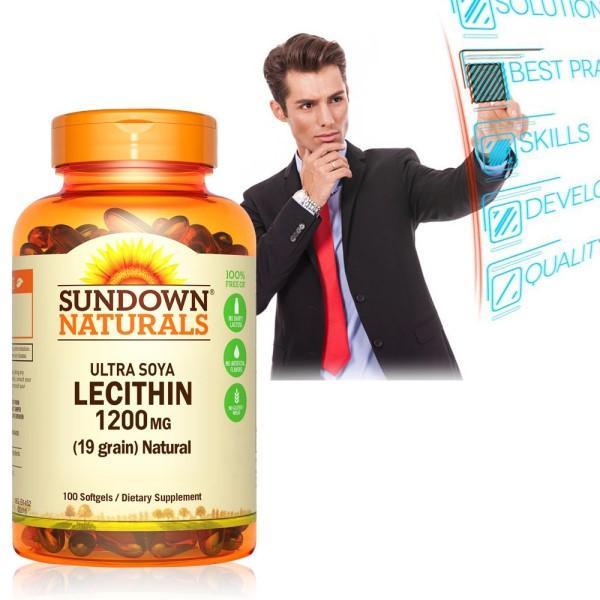 Sundown日落恩賜-頂級61%卵磷脂膠囊(100粒)