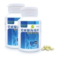 素天堂-愛爾蘭海藻鈣(精萃單方)(60錠X2瓶)