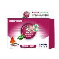 BIOline星譜生技 緩釋型蔓越莓+綠蜂膠_私密調理膠囊(60顆)
