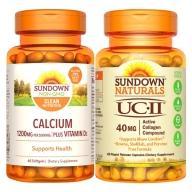 Sundown日落恩賜 靈活動感組(UCII+液態鈣600mg)