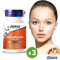 NOW健而婷-GSH穀胱甘肽膠囊(60顆)3瓶優惠組