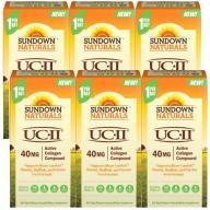 Sundown日落恩賜 勇健UCII非變性二型膠囊(60粒X6瓶)(共360天份)