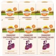 Sundown日落恩賜-超級蔓越莓plus維生素D3軟膠囊(150粒X6瓶)(900天份)