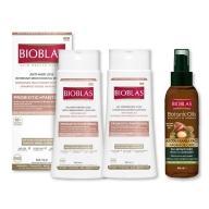 BIOXSINE沛優絲-益生菌護髮組B(洗髮精2瓶+髮油1瓶)