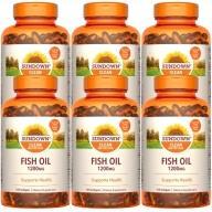 Sundown日落恩賜-精萃深海魚油1200mg膠囊食品(100粒X6瓶)(效期至2022年3月31日)