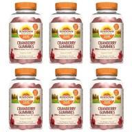 Sundown日落恩賜-50倍濃縮蔓越莓軟糖(75粒X6瓶)(效期至2022年1月31日)