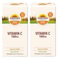 Sundown日落恩賜 光炫維生素C-1000 mg錠(133錠X2瓶)(共266天份)