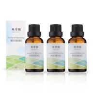 璞草園-樂活多元複方精油(30ml X 3瓶)