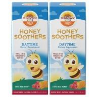 Sundown日落恩賜-兒童蜂蜜接骨木潤喉糖漿(日間適用)(118毫升X2瓶)(效期至2021年7月31日)