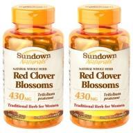 Sundown日落恩賜-頂級紅花苜蓿膠囊(100粒X2瓶)(效期至2021年8月31日)