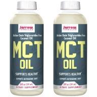 Jarrow賈羅公式 中鏈三酸甘油脂MCT Oil(椰子油來源)(591毫升X2瓶)(效期至2022年4月30日)