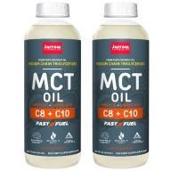 Jarrow賈羅公式 中鏈三酸甘油酯MCT Oil(椰子油來源)(591毫升X2瓶)