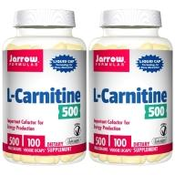 Jarrow賈羅公式-液態卡尼丁(肉鹼)窈窕膠囊(100粒X2瓶)