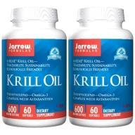 Jarrow賈羅公式-超級磷蝦油600MG軟膠囊(60粒X2瓶)