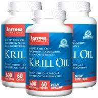Jarrow賈羅公式-超級磷蝦油600MG軟膠囊(60粒X3瓶)
