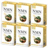 辰鑫生技-NMN(專利蠶絲蛋白加強配方)(30粒X6盒)優惠組